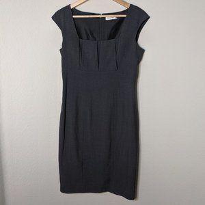 NWOT Steel Gray Mini Dress Formal 8
